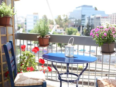 Photo for A Walk To Acropolis From A Sunny And Modern Apartment In Koukaki