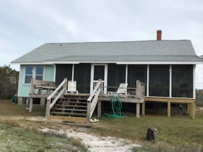 """Alligator Point Gulf Front """"Old Florida Style"""" Beach Cottage Recently Updated"""