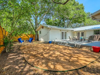 Photo for Family-friendly getaway w/ two master suites, full kitchen, & outdoor seating!