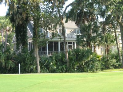 View of back of house from 15th green.