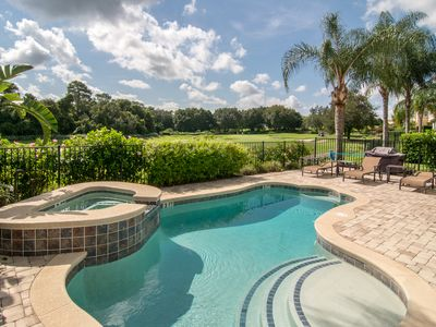 Photo for Luxury Home - Pool - 6 Miles from Disney - Reunion Resort Access!!