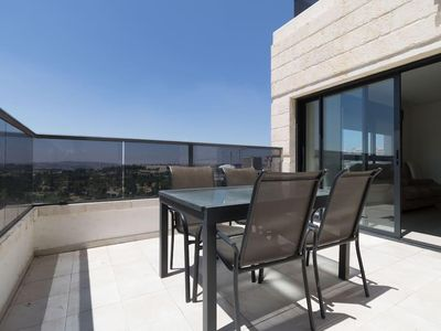 Photo for 3BR/parking/Stunning view balcony in JLM center!