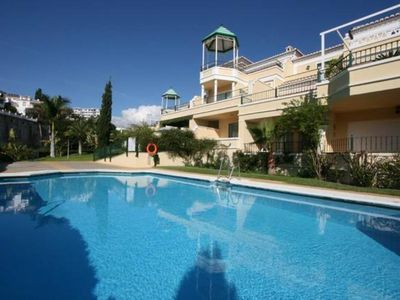 Photo for Nerja: Superb apartment with swimming pool, close to the beach