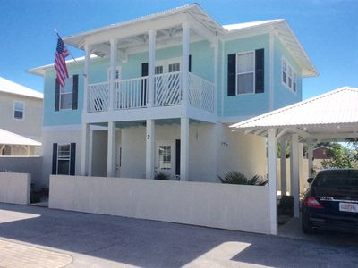 Photo for LUXE HOME, 3 BEDS/3 BATH, STEPS TO THE BEACH & ALL THE ACTION