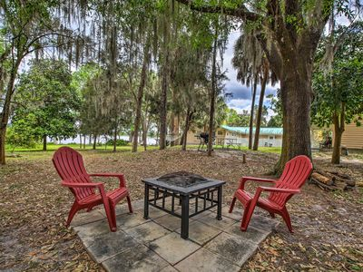 Photo for Dunnellon Cottage on Lake Rousseau w/ Boat House!