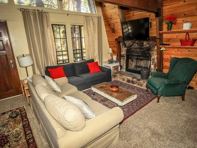 Photo for House in Big Bear Lake with Internet, Parking, Balcony (983533)