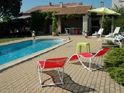 Photo for MAY PROMO Villa 6p in the calm Private swimming pool with salt Heated clim wiffi Sea 8KM