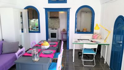 Photo for Renovated Traditional Holiday House in Santorini