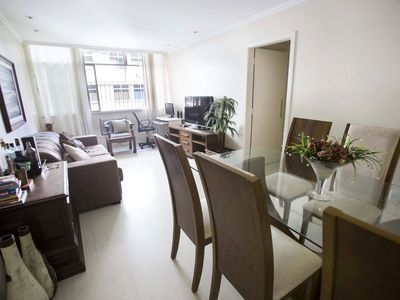 Photo for 3 rooms in Leblon (up to 10 people)