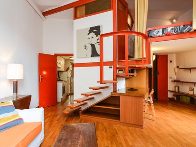 Photo for RIPA STREET 2 - funny apartment in the heart of Trastevere
