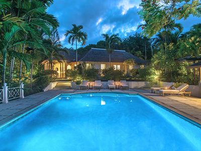 Photo for Almond Hill 4BR - Luxury villa, fully staffed, pool, resort membership, beach access