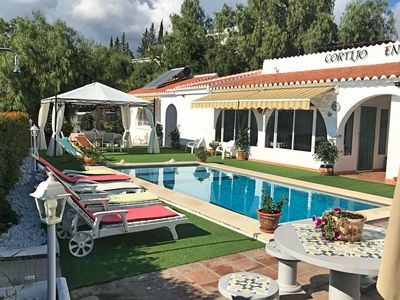 Photo for Charming holiday home with private pool near the white village of Cómpeta