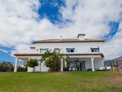 Photo for Bright and modern beachfront townhouse, First line beach house close to Estepona port