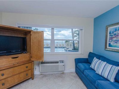 Photo for #154 Surf Song Resort: 1 BR / 1 BA ground floor in Madeira Beach, Sleeps 2