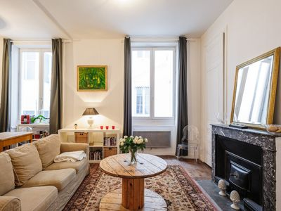 Photo for Cosy and elegant apt heart of Lyon