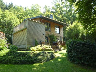 Photo for Spacious Chalet with Fenced Garden in Vieuxville