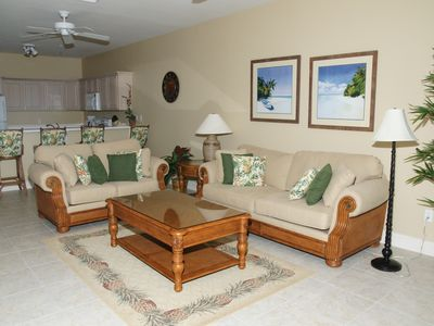 Photo for Enjoy our very Comfortable Beachfront Condo - 7th Night FREE!