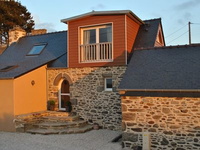 Photo for Tip of Finistère Cottage 4 persons, sea view, between Iroise Sea and Abers