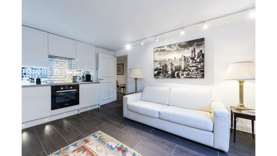 Photo for Luxurious 2-bedroom Apartment with Private Entrance and Courtyard