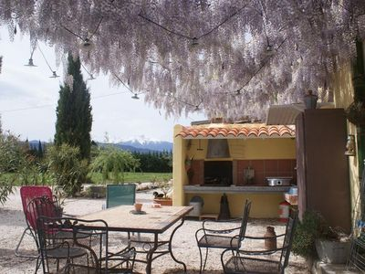 Photo for Rural cottage, Catalan farmhouse from the 19th century, in the heart Roussillon