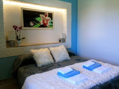 Photo for Apartment in villa Ground floor with parking and garden