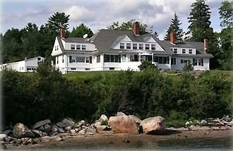 Sealight is a classic Bar Harbor-style waterfront summer cottage.