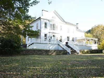 Historic Manor House on Shenandoah River in Virginia's Wine Country