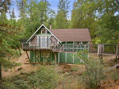 Photo for Forest Glen - Secluded home surrounded by trees! FREE 2 hour Bike/Kayak Rental!