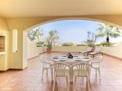 Photo for Lovely two bedroom ground floor apartment located in the heart of La Manga Club
