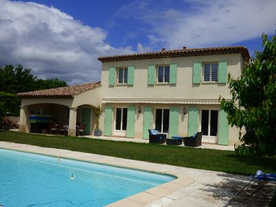 Photo for Provencal Bastide with pool in private domain