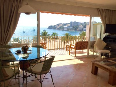 Photo for Spectacular Sea View! Front Line, Private Parking
