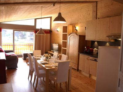Photo for NICE AND SPACIOUS FLAT NEAR PISTES