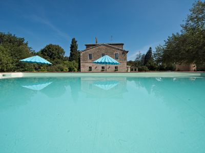 Photo for Villa Leone, a charming farmhouse, with private pool