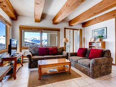 Photo for View of Mt. Crested Butte and Lifts 2 Br Condo