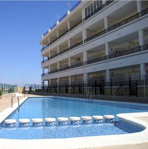 Photo for Luxury air-con apartment with roof sun terrace in Playa Flamenca with Free Wi-Fi