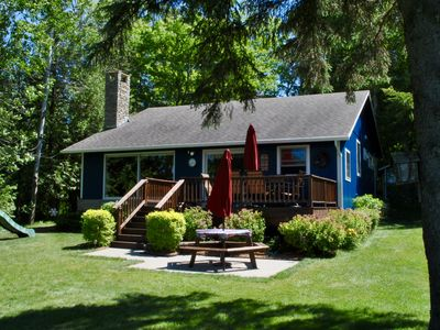 Photo for Peaceful Charlevoix Lakefront Home - Perfect for Families