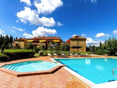 Photo for Sughera Apartment, Sleeps 6 with Pool, Air Con and WiFi