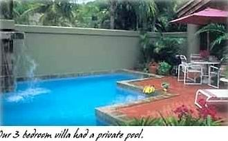 Spectacular 3BR Pool Villa's Private Waterfall Pool And Courtyard!