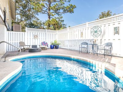Serenity on North End Pool home Pet Friendly