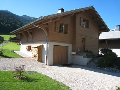 """Photo for Independent chalet for 6 to 8 people in the heart of """"Portes du Soleil"""""""