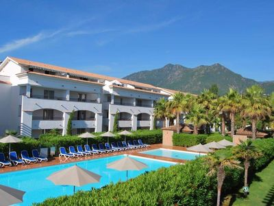 Photo for For rent apartment T3 IN Corsica Moriani Plage 4 to 6 people feet in the water