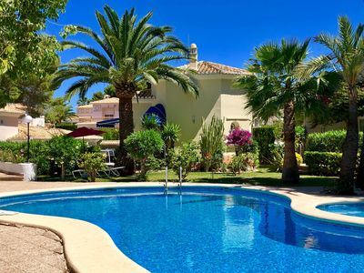 Photo for Romantic, modern, near town villa with a nice communal pool