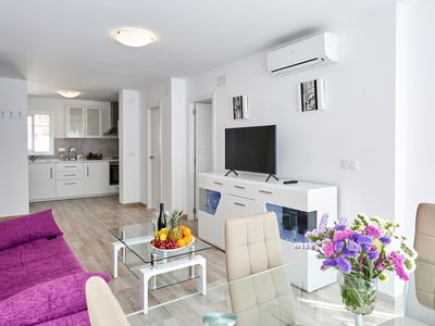 Photo for Deluxe Apartments in Benidorm, 3 min walking from the beach, 2 bedrooms