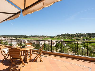 Photo for Can Nadal - on the outskirts, Fantastic view, huge terraces, satellite TV, wireless, AC