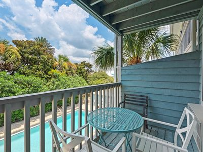 Photo for Cozy studio unit ~ Steps from the emerald coast beaches ~ Close to Alys & Rosemary Beach!