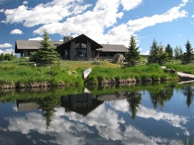 Photo for Otter Lodge - Mountain retreat w/Blue Ribbon fishing in front yard!