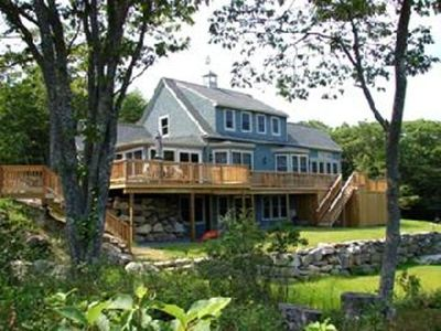 Photo for Peaceful Waterfront Cottage, Year Round - Mid Coast ME -Five Islands, Georgetown