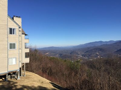 Your Picture Perfect View Of The Smokies and Ober Gatlinburg!