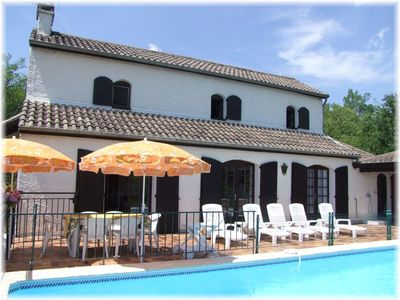 Photo for 5BR House Vacation Rental in Chauzon, Auvergne-Rhône-Alpes