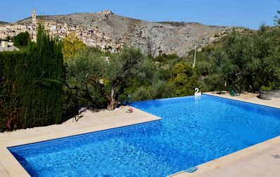 Great view from the terrace of Villa Rosa